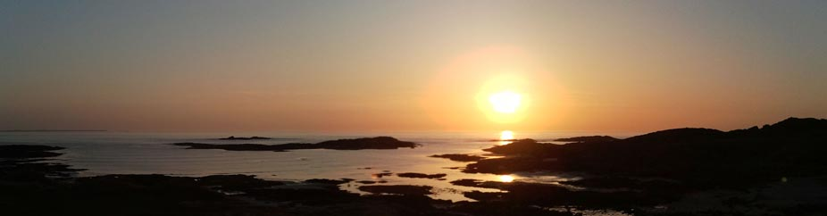 Sunset at Sanna Bay